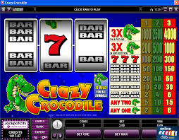 Crazy Crocodile Slot Machine